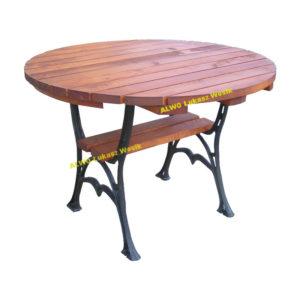 stół okrągły logo